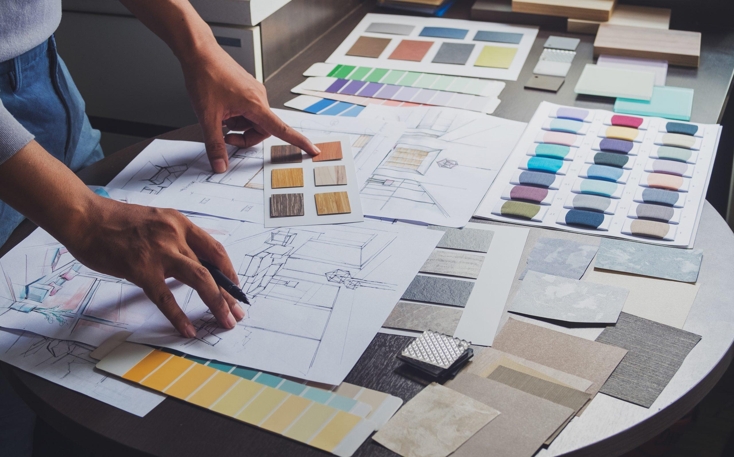 Choix des matériaux décoration